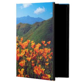 California poppies covering a hillside iPad air cover