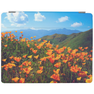 California poppies covering a hillside iPad cover