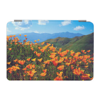 California poppies covering a hillside iPad mini cover