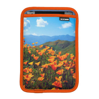 California poppies covering a hillside iPad mini sleeve