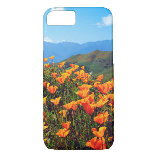 California poppies covering a hillside iPhone 8/7 case