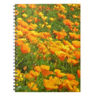 California Poppies Notebooks