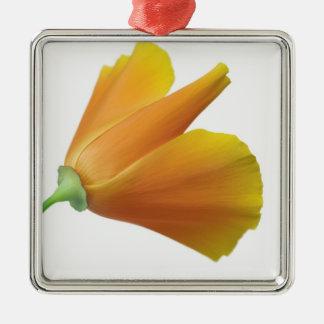 California poppy christmas ornament