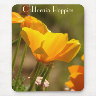 California Poppy Flower Mousepad
