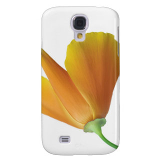 California poppy galaxy s4 case