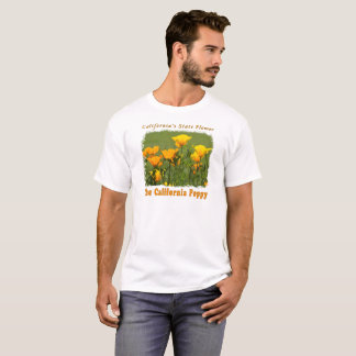 California Poppy - Golden Poppies Wildflowers T-Shirt