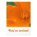 California Poppy Invitation