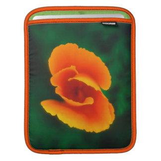 California Poppy iPad Sleeve