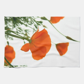 California Poppy Kitchen Towel