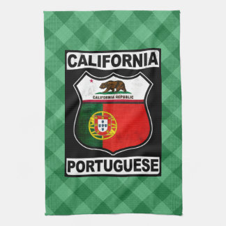California Portuguese American Tea Towels