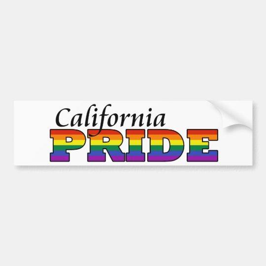 California Pride Bumper Sticker