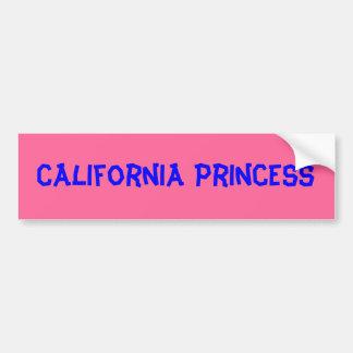 California Princess* Bumper Sticker