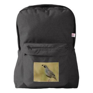 California Quail Backpack