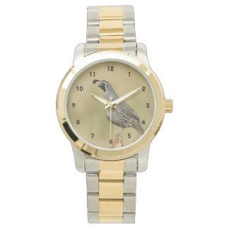 California Quail Wristwatches