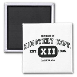 CALIFORNIA Recovery Refrigerator Magnet