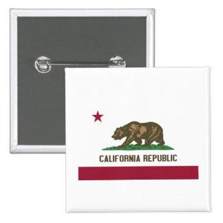 California Republic 15 Cm Square Badge