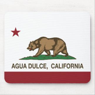 California Republic Agua Dulce Flag Mousepad
