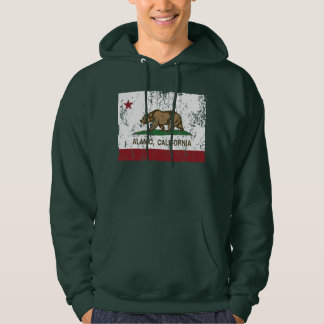 California Republic Alamo Flag Hoodie