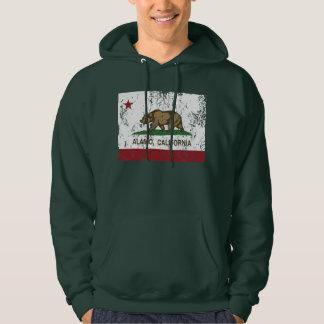 California Republic Alamo Flag Sweatshirts
