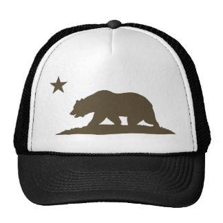 California Republic Bear - Brown Cap