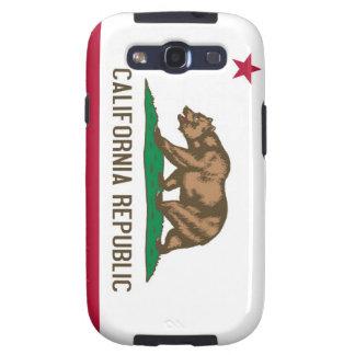 California Republic Bear State Flag Galaxy SIII Cover
