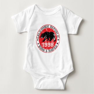 California Republic born and raised 1998 Shirts