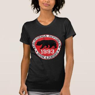 california republic born raised 1993 t-shirts