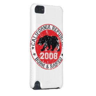 california republic born raised 2008 iPod touch 5G covers