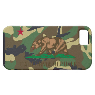 California Republic Camouflage Flag Case For The iPhone 5