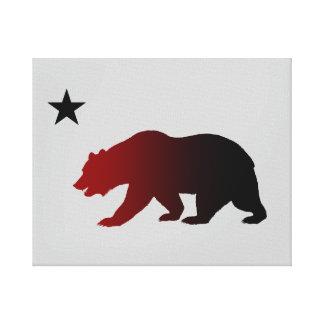 California Republic Stretched Canvas Print