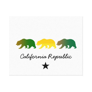 California Republic Gallery Wrapped Canvas