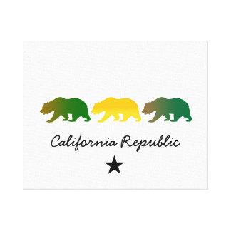 California Republic Gallery Wrapped Canvas