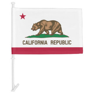 California Republic car flag