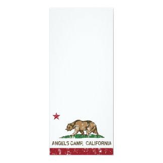 California Republic Flag Angels Camp Custom Invites