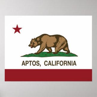 California REpublic Flag Aptos Print