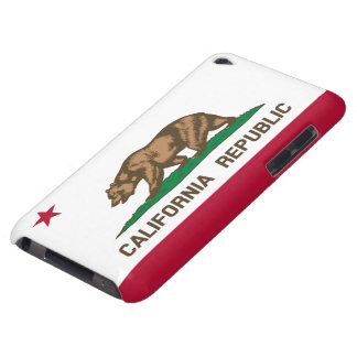 California republic flag iPod touch cases