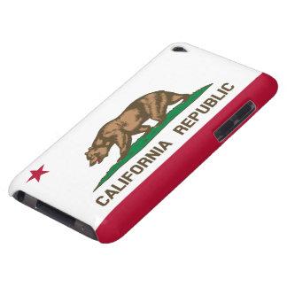California republic flag iPod touch cases