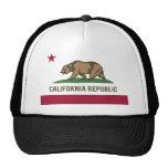 California Republic Flag - Colour Hats