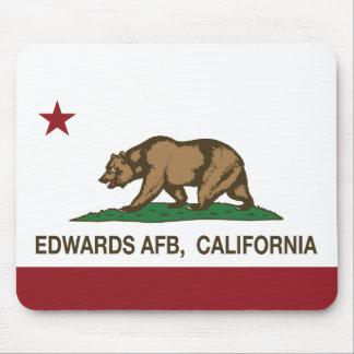 California Republic Flag Edwards AFB Mouse Pad