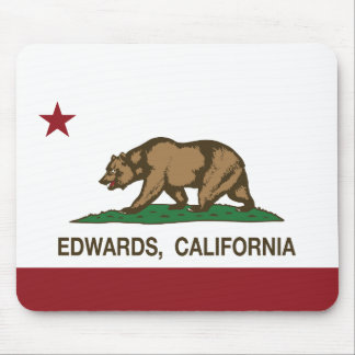 California Republic Flag Edwards Mousepads