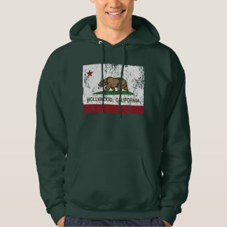 California Republic Flag Hollywood Hoodie