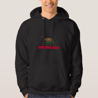 California Republic flag hoodie