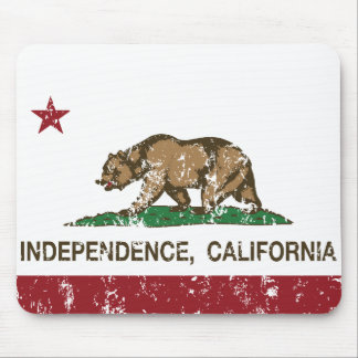 California Republic Flag Independence Mouse Pad