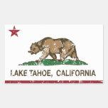 California Republic Flag Lake Tahoe Stickers