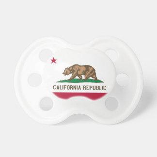 California Republic Flag Pacifier