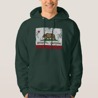 California Republic Flag Sebastopol Hoodie