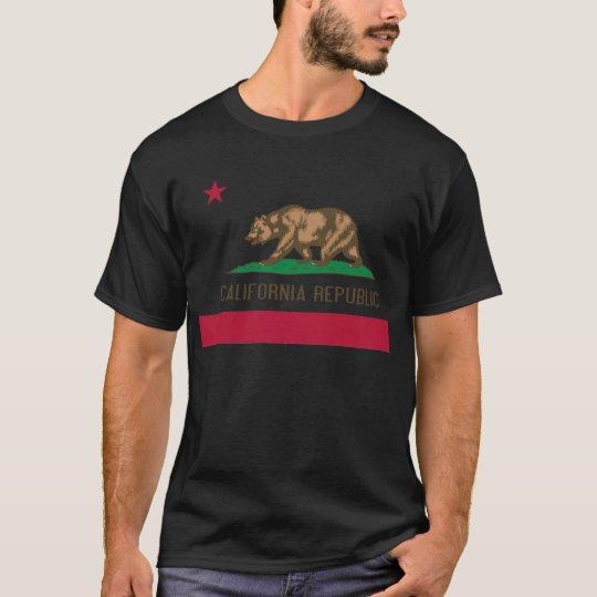 California Republic Flag T Shirt