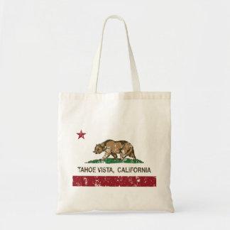 California Republic Flag Tahoe Vista Tote Bag