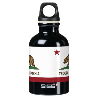 California Republic Flag Tecopa SIGG Traveler 0.3L Water Bottle