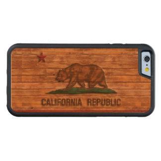 California Republic Flag Vintage Cherry iPhone 6 Bumper